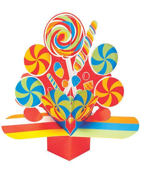 Galda dekorācija - Saldumi cena un informācija | Svētku dekorācijas un vienreizlietojamie trauki | 220.lv