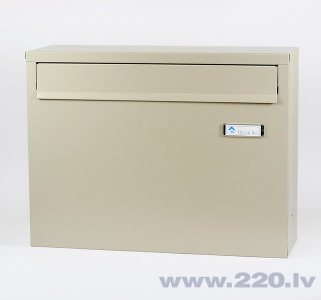 Pastkaste PD 920 Pelēka cena un informācija | Pastkastītes | 220.lv