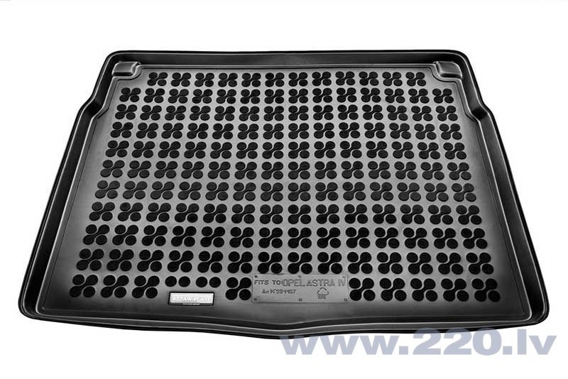 Gumijas bagāžas nodalījuma paklājiņš Opel ASTRA IV J Hatchback 2009-2015 /231137 cena un informācija | Bagāžnieka paklājiņi pēc auto modeļiem | 220.lv