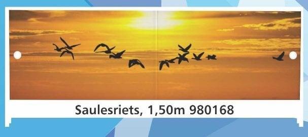 Экран для ванны Закат, высота 56-60 см, длина 1,5 м цена и информация | Vannas ekrāni un citi aksesuāri | 220.lv