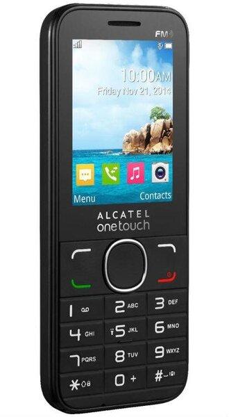 Alcatel One Touch 2045X Black ENG (Melns) cena un informācija | Mobilie telefoni | 220.lv