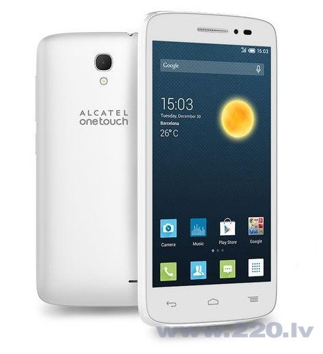 Alcatel One Touch 5042 Pop 2 LTE White ENG (Белый) цена и информация | Mobilie telefoni | 220.lv