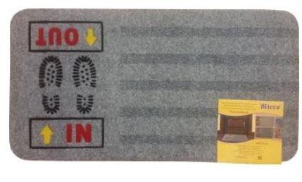 Kājslauķis THERMOFLOCK 40x70 cm pelēks cena un informācija | Kājslauķi | 220.lv
