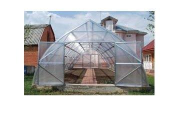 Siltumnīca FERMER 7.5x4.2 m ar polikarbonātu 6 mm cena un informācija | Siltumnīcas | 220.lv