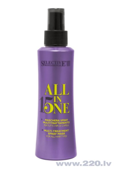 Matu maska- aerosols Selective Professional All In One 150 ml