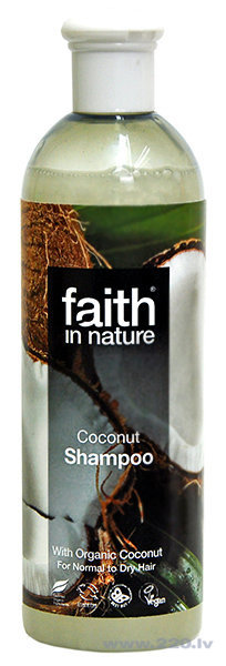 Šampūns Faith in Nature Coconut cena un informācija | Šampūni | 220.lv