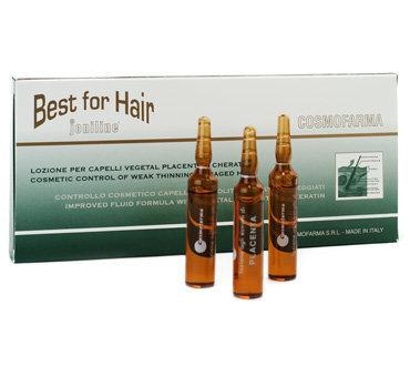 Ampulas matu atjaunošanai Cosmofarma 12x10 ml cena un informācija | Matu uzlabošanai | 220.lv