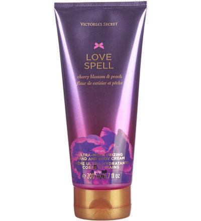 Ķermeņa krēms Victoria's Secret Love Spell 200 ml cena un informācija | Parfimēta sieviešu kosmētika | 220.lv