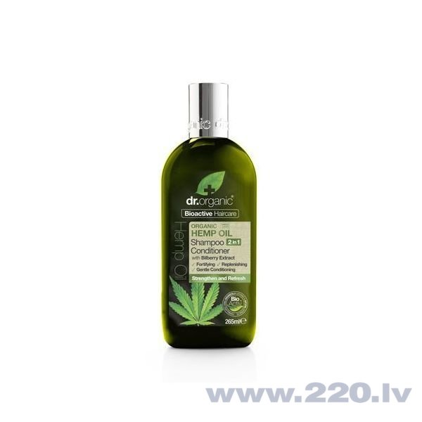 Šampūns-kondicionieris (2in1) Dr. Organic 265 ml