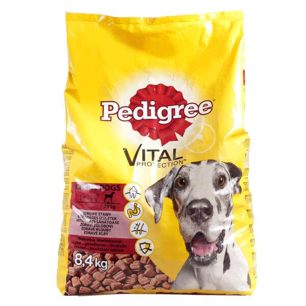 PEDIGREE sausā barība lielo šķirņu suņiem 8,4 kg cena un informācija | Sausā barība suņiem | 220.lv
