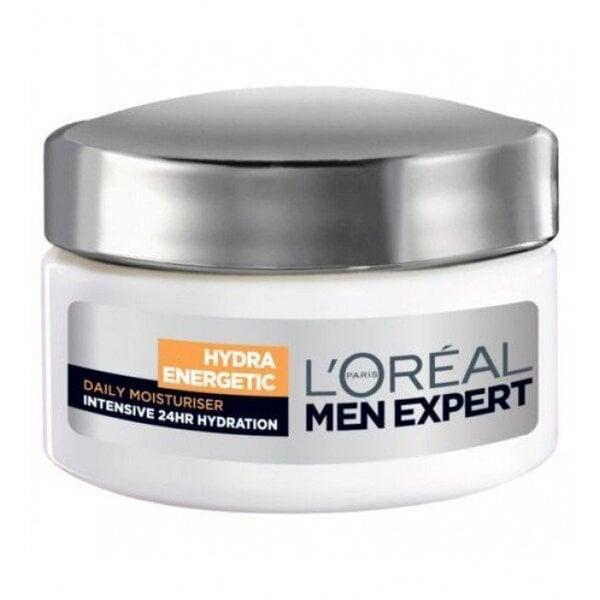 Ikdienas lietošanas dienas krēms L'oreal Paris Men Expert Hydra Energetic 50 ml cena un informācija | Sejas ādas kopšana | 220.lv