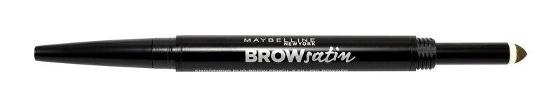 Uzacu vaska zīmulis Maybelline Brow Satin Duo 10 g cena un informācija | Acis | 220.lv