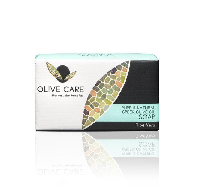 Ziepes Olive Care Aloe Vera 125 g cena un informācija | Mazgašanās līdzekļi | 220.lv