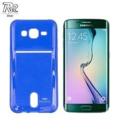 Roar Super Plāns Aizmugures Maks ar nodalījumu kartēm Samsung G925 Galaxy S6 Edge Zils (EU Blister)