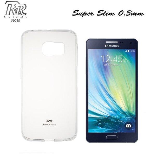 Roar Super Plāns 0.3mm Premium Kvalitātes Aizmugures Apvalks Samsung A500F Galaxy A5 Caurspīdīgs (EU Blister) cena un informācija | Maciņi, somiņas | 220.lv