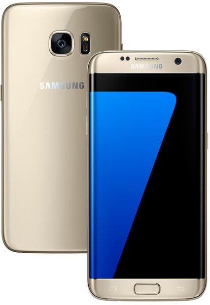 Samsung Galaxy S7 Edge G935 LTE Gold cena un informācija | Mobilie telefoni | 220.lv