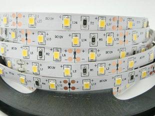 11 W / m LED lente 2835, 60 LED / m, 1440lm / m (6000K) gaiši balta cena un informācija | LED lentas | 220.lv