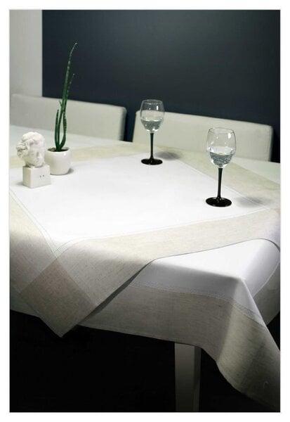 Lina auduma galdauts, 140 x 200 cm cena un informācija | Galdauti, virtuves dvieļi | 220.lv