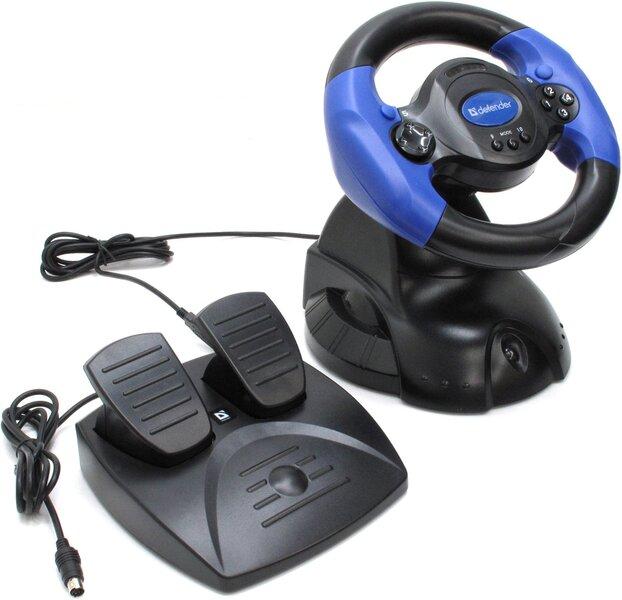 Defender ADRENALINE MINI LE USB Spēļu stūre cena un informācija | Spēlu konsoles aksesuāri un spēles | 220.lv