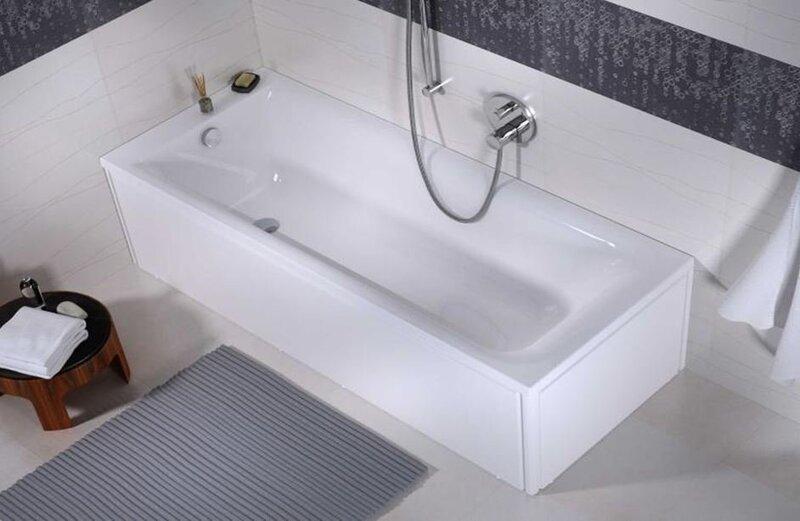 Akrila vanna FORTUNA (170x75x40 cm) cena un informācija | Taisnstūra vannas | 220.lv