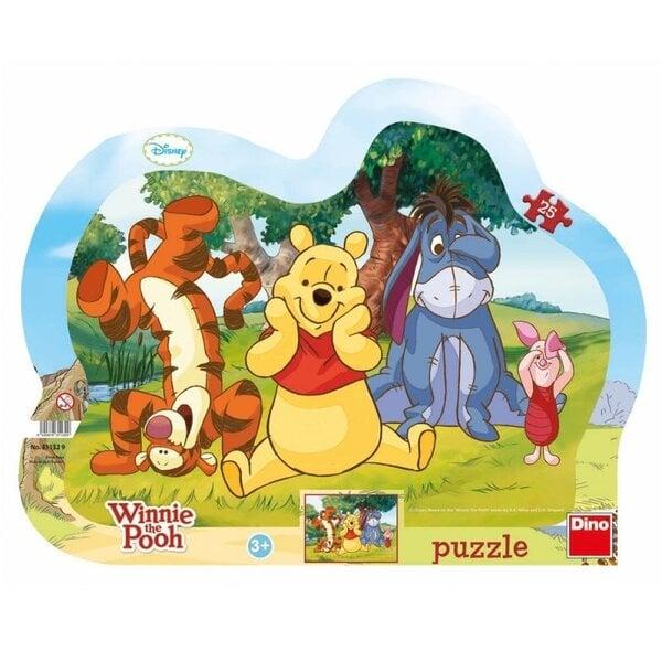 Puzle Dino Slēpšanās, 25 gab., 311329 cena un informācija | Puzles, 3D puzles | 220.lv
