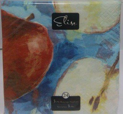 Salvetes - Āboli 24 gab. cena un informācija | Svētku dekorācijas un vienreizlietojamie trauki | 220.lv