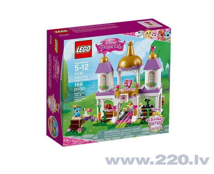 Конструктор Lego Disney Princess Palace Pets Royal Castle 41142 цена и информация | LEGO | 220.lv