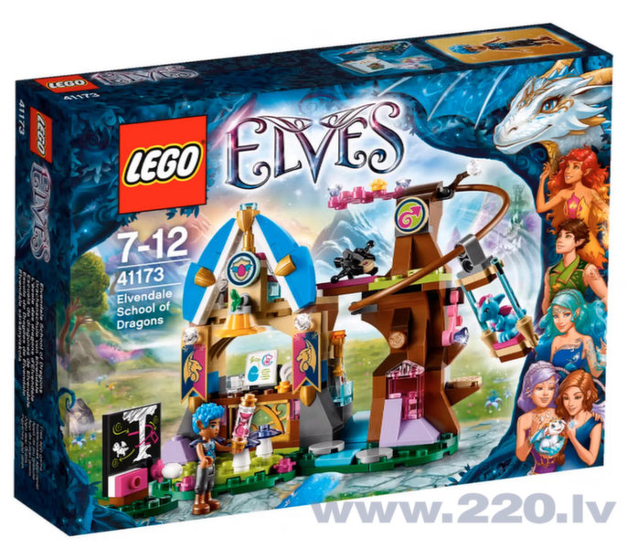 Конструктор Lego Elves Elvendale School of Dragons 41173 цена и информация | LEGO | 220.lv