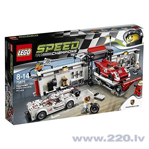 Конструктор Lego Speed Champions Porsche 919 Hybrid and 917K Pit Lane 75876 цена и информация | LEGO | 220.lv