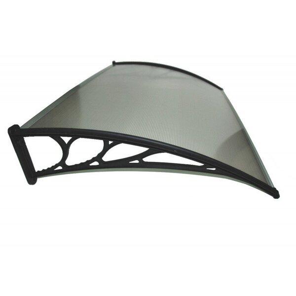 Aizsardzības jumtiņš MIRO BROWN 100x150 cm cena un informācija | Durvju jumtiņi | 220.lv