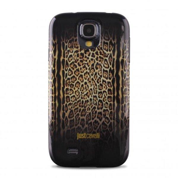 Aizmugures apvalks PURO Samsung galaxy s4, leoparda cena un informācija | Maciņi, somiņas | 220.lv