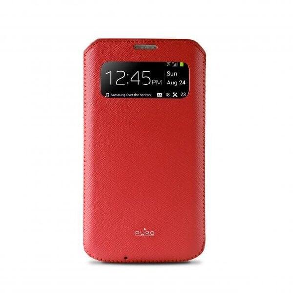 Aizmugures apvalks telefonam Samsung Galaxy S4, Sarkans cena un informācija | Maciņi, somiņas | 220.lv