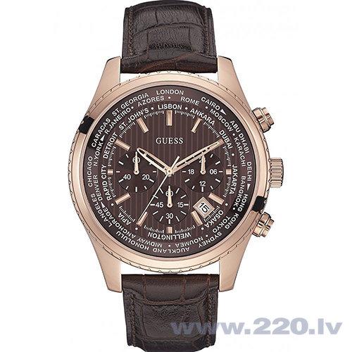 Pulkstenis GUESS W0500G3 cena un informācija | Vīriešu pulksteņi | 220.lv