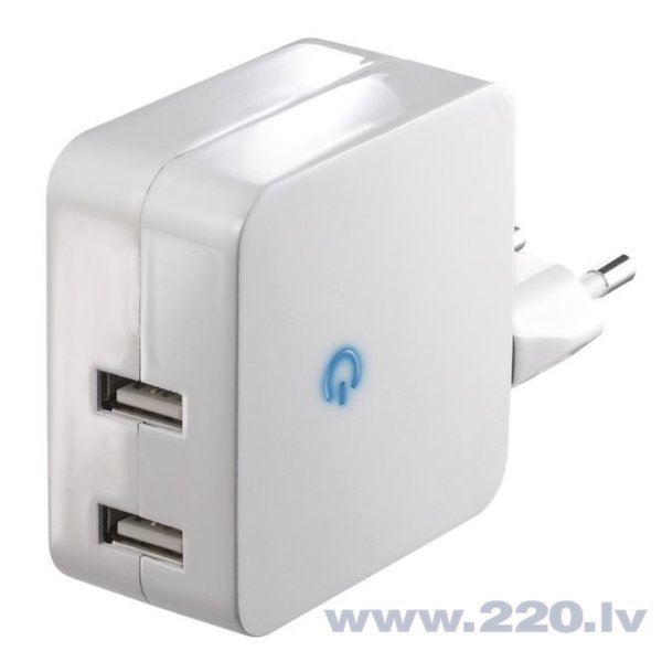 EMOS mobilā telefona lādētājs 2 USB, 4.2A cena un informācija | Lādētāji un savienotājkabeļi | 220.lv