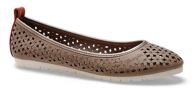 Sieviešu apavi Wrangler Flo Ballerina cena un informācija | Kurpes, sandales | 220.lv