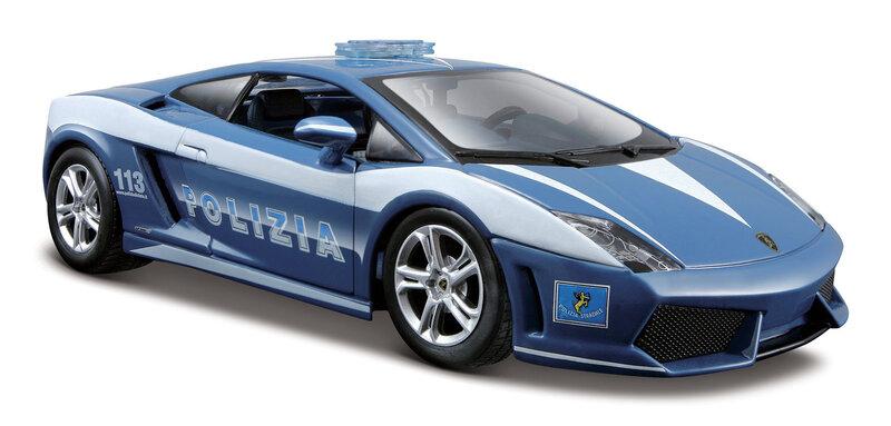 Automašīnas modelis Maisto Die-Cast 1:24 Lamborghini Police 31299