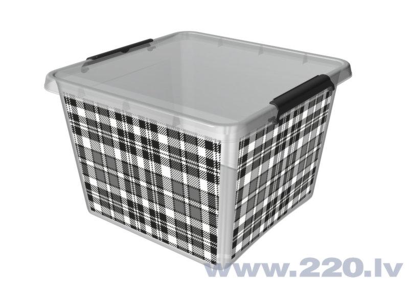Kaste mantām Orplast, 32 l cena un informācija | Veļas grozi un mantu uzglabāšanas kastes | 220.lv