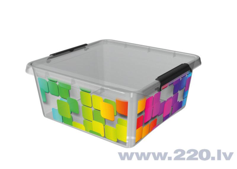 Kaste mantām Orplast, 18 l cena un informācija | Veļas grozi un mantu uzglabāšanas kastes | 220.lv