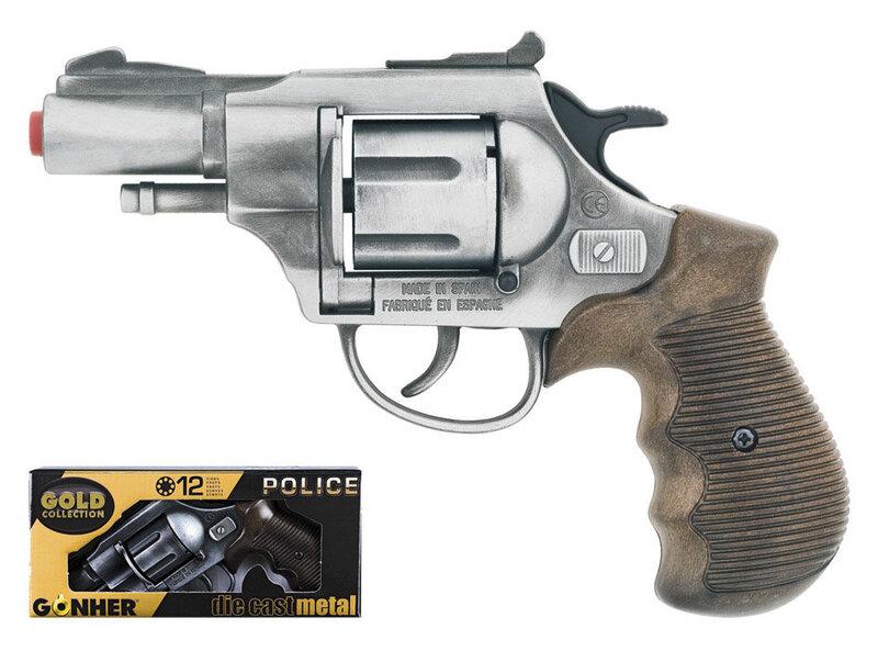 Rotaļu policijas darbinieka ierocis Gonher, 38/1 cena un informācija | Lomu spēles | 220.lv