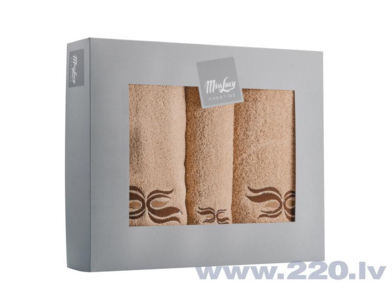 Miss Lucy dvieļu komplekts, 3 gab cena un informācija | Dvieļi | 220.lv