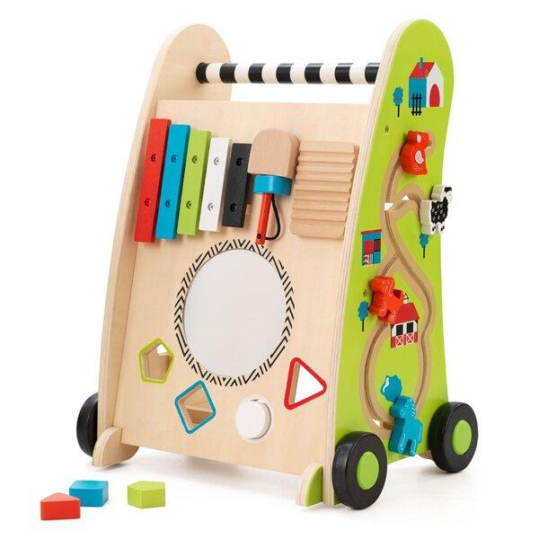 Koka stumjamais, attīstošais kubs Kidkraft 63246 cena un informācija | Rotaļlietas zīdaiņiem | 220.lv