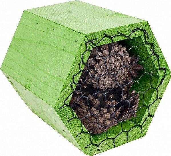 Bišu koka mājiņa cena un informācija | Putnu būri un barotavas | 220.lv