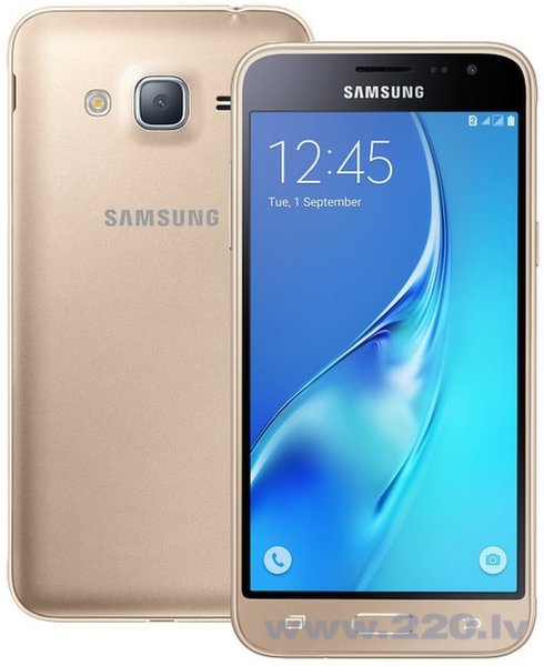 Samsung Galaxy J3 J320 8GB LTE Gold цена и информация | Mobilie telefoni | 220.lv