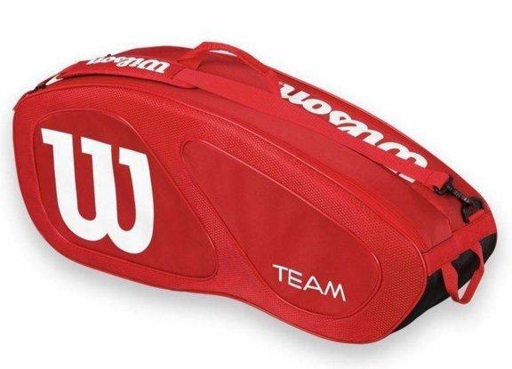 Soma tenisa raketēm Wilson Team 3PK cena un informācija | Teniss | 220.lv