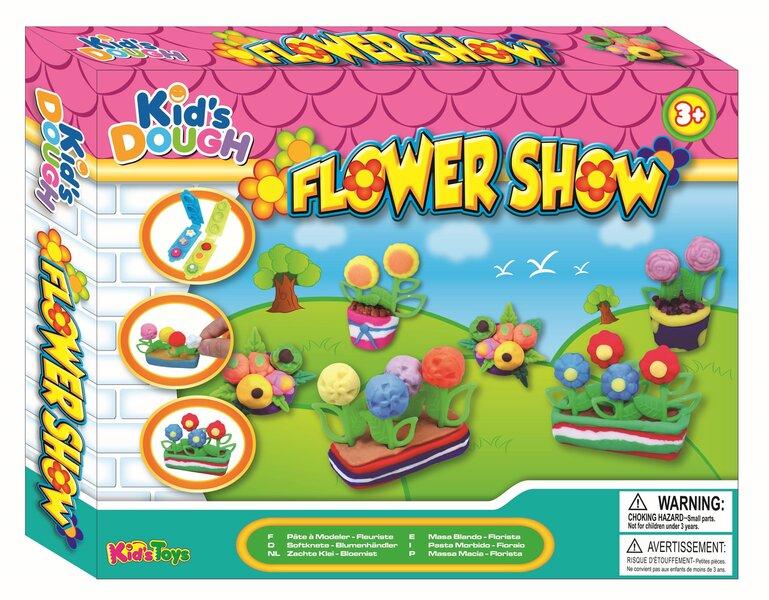 Creative Kids komplekts ziedu izstāde, 19 daļas cena un informācija | Zinātniskās un attīstošās spēles, komplekti radošiem darbiem | 220.lv