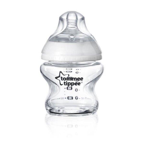 Stikla pudele Tommee Tippee CTN, 150 ml, 0m + 42243777 cena un informācija | Bērna barošana | 220.lv