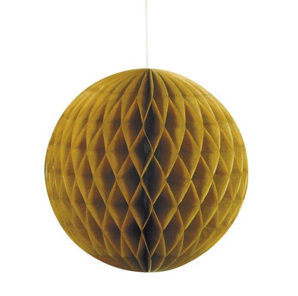 Svētku dekors, zelta 20 cm cena un informācija | Svētku dekorācijas un vienreizlietojamie trauki | 220.lv