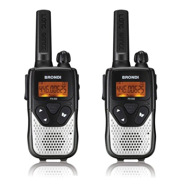 Рация BRONDI fx-332 twin цена и информация | Auto akustiskās sistēmas | 220.lv
