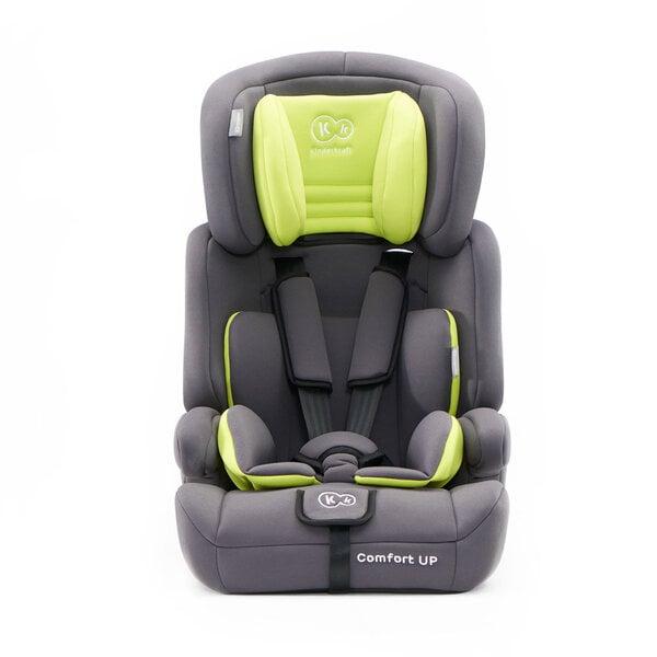 Autosēdeklis KinderKraft Comfort Up 9-36kg Green internetā