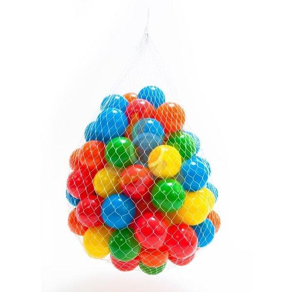 Plastmasas bumbas, 100 gab. cena un informācija | Lomu spēles | 220.lv